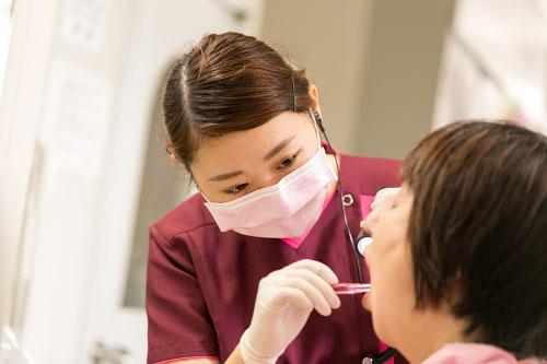 歯ブラシソムリエ=歯科衛生士イメージ